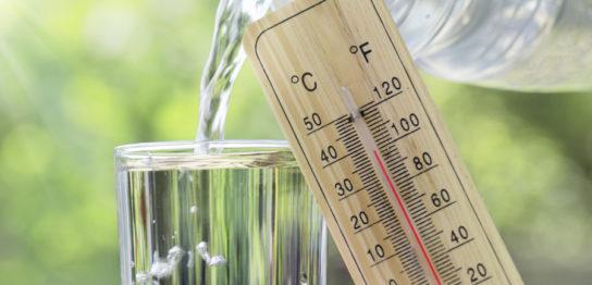 ダイエットに適している水分の温度とは?
